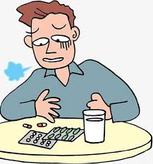 No spirit to take medicine Sick Without Spirit Out Spirits Fall Ill With No Spirit Free PNG Image