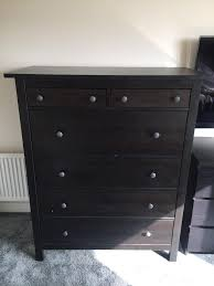 Ikea Hemnes Dresser 6 Drawer White by Decoration With White Wall Paint Colors Ideas And Black Wooden