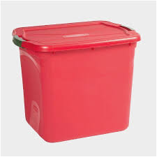 Christmas Tree Shops Trash Cans Prettier Rubbermaid 21 Gallon Storage Container