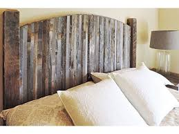 Farmhouse Style Arched Twin Bed Barn Wood Headboard W Narrow Rustic Reclaimed Slats
