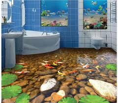 Cheap Floor Mural Buy Quality Flooring Directly From China Wallpaper Suppliers Beach Murals In Wall Stickers Custom Photo Self Adhesive