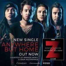 "Breathe Carolina Premieres New Single ""Anywhere But Home """