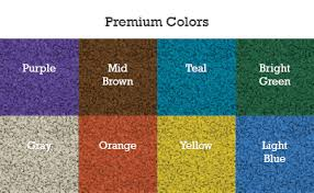 Poured In Place Standard Colors Premium