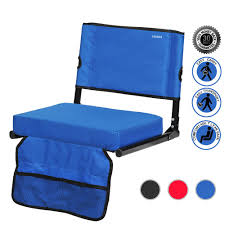 Buy Sheenive Stadium Seat - Wide Padded Cushion Stadium ... Recling Stadium Seat Portable Strong Padded Hitorhike For Bleachers Or Benches Chair With Cushion Back And Armrest Support Pnic Time Oniva Navy Recreation Recliner Fayetteville Multiuse Adjustable Rio Bleacher Boss Pal Green Folding Armrests 7 Best Seats With Arms 2017 The 5 Ranked Product Reviews Sportneer Chairs 1 Pack Black Wide 6 Positions Carry Straps By Hecomplete Khomo Gear And Bench Soft Sided