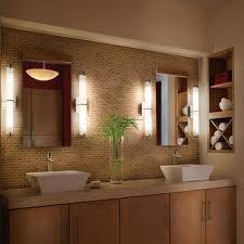 Plants For Bathroom Counter by We Could Do A Fixture On Either Side Of The Mirror Sb Bathroom
