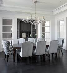 Curved Dining Room Transitional Inside Elegant And
