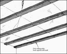 Hanging Drywall On Ceiling Trusses by Mobile Home Ceiling Panels Replacement Repair Or Rebuild