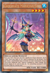 Sorcerer Of Dark Magic Deck 2015 by Yu Gi Oh Trading Card Game Chocolate Magician And Dark