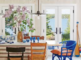 Beach House Dining Rooms - Coastal Living Refinished Solid Oak Farmhouse Table With 6 Chairs 2 Leaf Ding Fniture In A Range Of Styles Ireland Dfs Rugs 101 The Best Size For Your Room Rug Home 30 Decorating Ideas Pictures Of Inviting Blue Lamb Furnishings Round Vintage Dropleaf Table Total Kenosha Wi Lets Settle This Do Belong In Kitchen Amish Sets