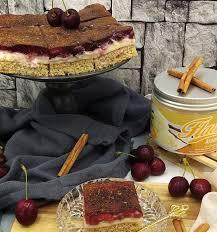 kirsch pudding kuchen rezept