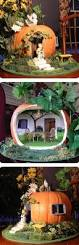 Carvable Craft Pumpkins Wholesale by Best 25 Pumpkin Fairy House Ideas On Pinterest Diy Fairy House