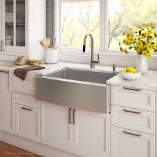 Install Kindred Sink Strainer by Stainless Steel Kitchen Sinks Kraususa Com