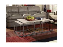100 Living Room Table Modern Basics Rectangular Cocktail With Bronze With Nesting S By Hammary At Morris Home