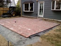 brick patio design ideas pits design awesome brick patio construction plans paver
