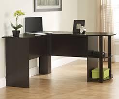 ameriwood dark russet cherry l shaped desk 9354303pcom