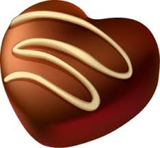 Heart of Chocolate PNG Picture Clipart