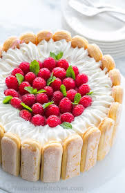 With step by step photos you can master Raspberry Charlotte Russe Cake