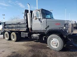 100 Tandem Trucks 1992 Volvo ACL64 Axle Dump Truck Cummins M11 370HP