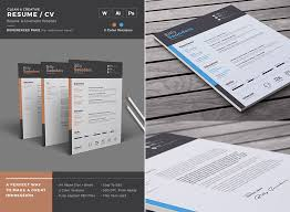 Simple Creative Resume Microsoft Word Template