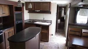 Travel Trailer Floor Plans Rear Kitchen by 2014 Heartland Prowler 30 Pr Travel Trailer Rear Lounge 2