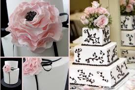 Black And White Wedding Cake Ideas