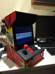 Bartop Arcade Cabinet Kit by Bartop Mini Retro Arcade Raspberry Pi And Customised Icade 12