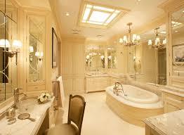 Chandelier Over Bathroom Sink by Simple Open Master Bathroom Design Bathroom2 Sink Cabinets Toilet