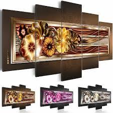 wandbilder blumen leinwand bilder abstrakt wohnzimmer 5