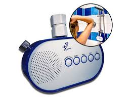 radio salle de bain h2o power la radio de waterproof qui marche à l eau