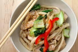je de cuisine de pork stir fried noodles nouilles sautées au porc miss
