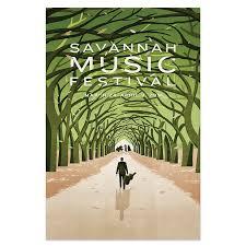 2016 Festival Poster By SHOUT Savannah Music
