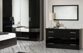ambra modernes schlafzimmer kommode schwarz