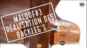 Sam Maloof Rocking Chair Video by Sam Maloof 3 Réalisation Des Backleg U0027s Du Rocking Chair Youtube