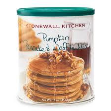 Pumpkin Pancakes With Gluten Free Bisquick by Pumpkin Pancake U0026 Waffle Mix Pancakes U0026 Syrups Stonewall Kitchen