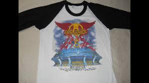 20 vintage aerosmith t shirts youtube