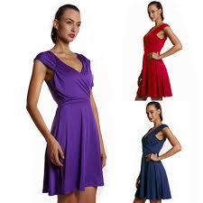 women ladies mini dresses summer v neck sleeveless chic