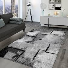 wohnzimmer teppich modernes abstraktes design