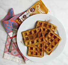 I Used A Quest Cinnamon Crunch Protein Powder Packet In This Waffle Recipe To Increase The Content And Create Healthier Breakfast