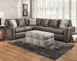 American Freight Sofa Beds by Santa Fe Gray 2 Pc Sectional Sofa American Freight