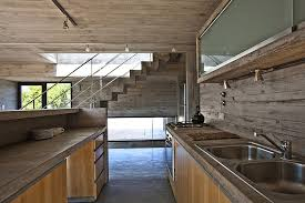 View In Gallery Industrial Style Kitchen Design Wood And Concrete