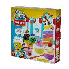 crea dough cake shop knete kinderknete set kuchen basteln