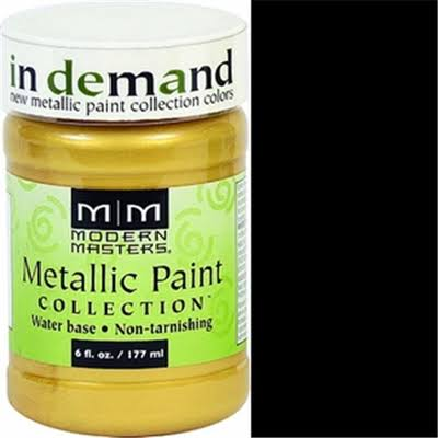 Modern Masters Metallic Interior & Exterior Paint - Rich Gold, 177ml