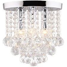 dellemade 3 leuchtet kristall kronleuchter modern deckenleuchte für treppenhaus bar küche esszimmer kinderzimmer