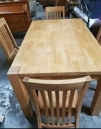 esszimmer buche massiv tisch und 4 stühle neuwertig