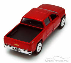 Chevy Silverado Pickup Truck, Red - Jada Toys Just Trucks 97017 - 1 ...