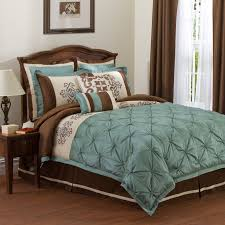 Teal and Brown Bedding Product Selections