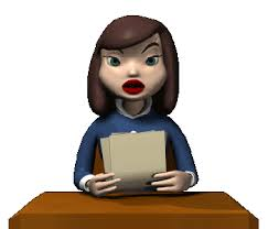 Animated News Reporter Clipart Free
