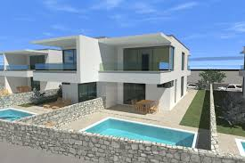 100 Semi Detached House Design Detached House With Pool And Sea View