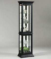 Pulaski Oak Corner Curio Cabinet by Oxford Black Curio Cabinet By Pulaski Furniture Wolf And