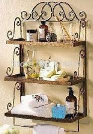 China Bathroom Wrought Iron Wall Rack Find Details About Shelf Towel Bar From